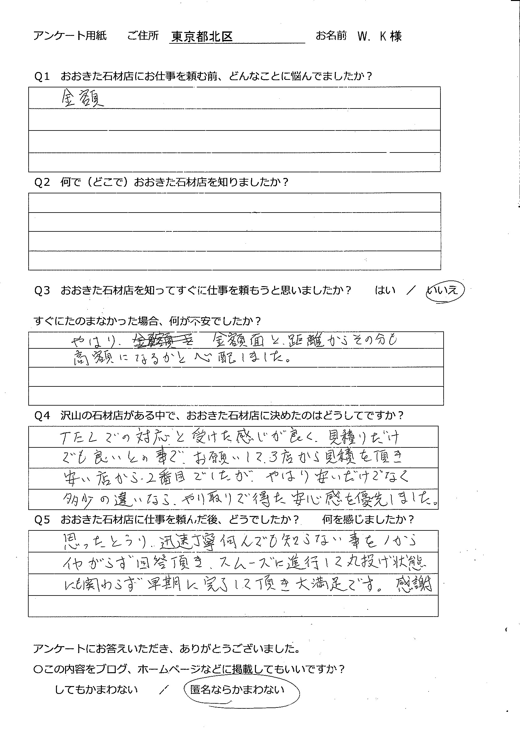 2019-09野田川・小北家お墓じまい