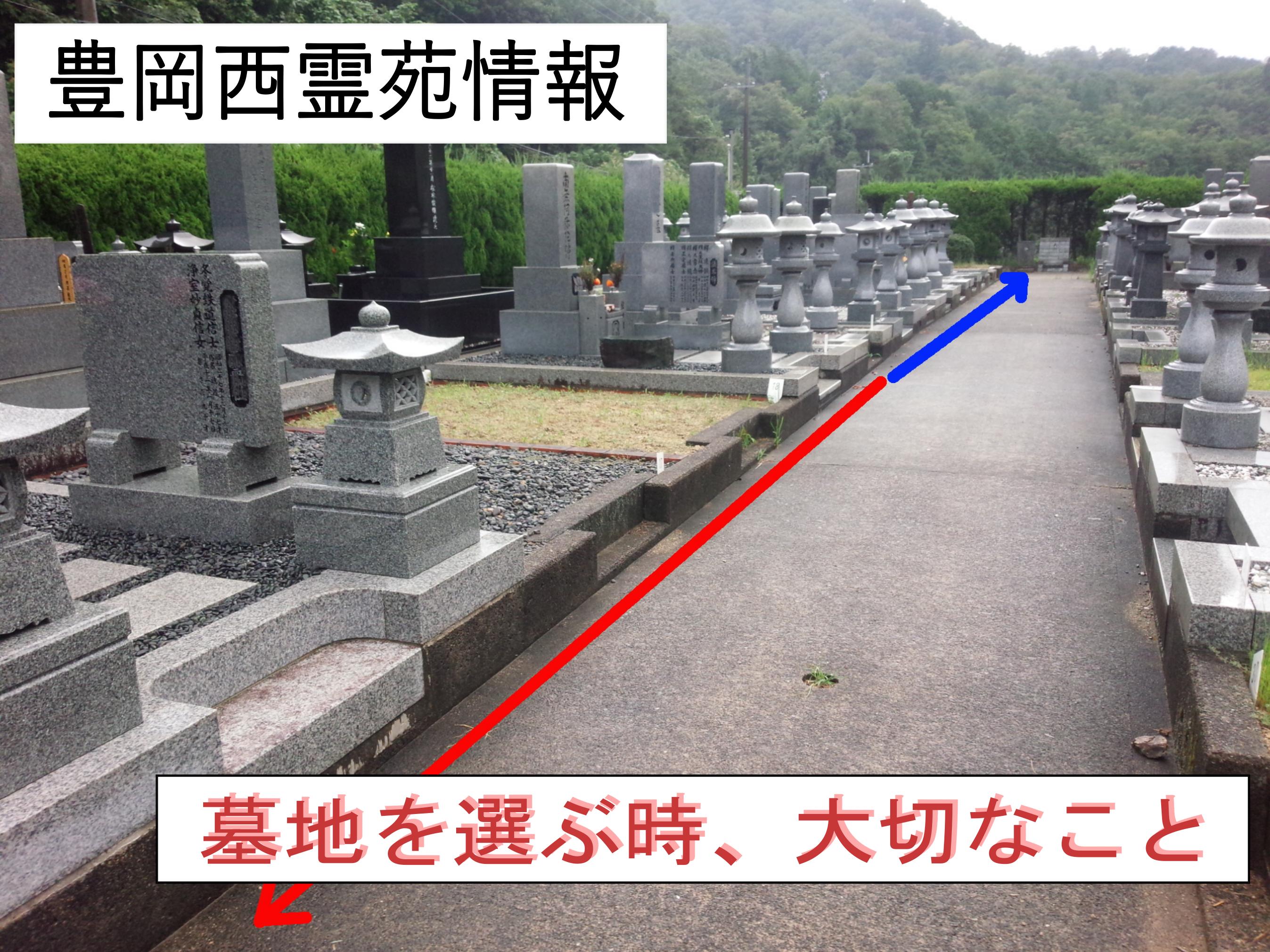 墓地を選ぶとき、だいじなこと